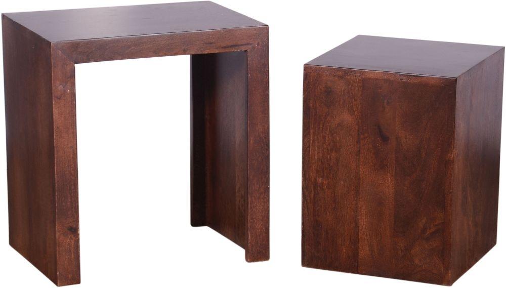 Urban Deco Dakota Dark Mango Nest of Tables