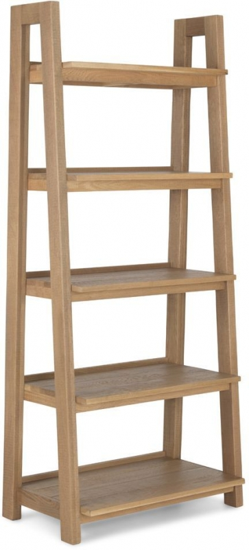 Bourg Ladder Display Unit - Oak