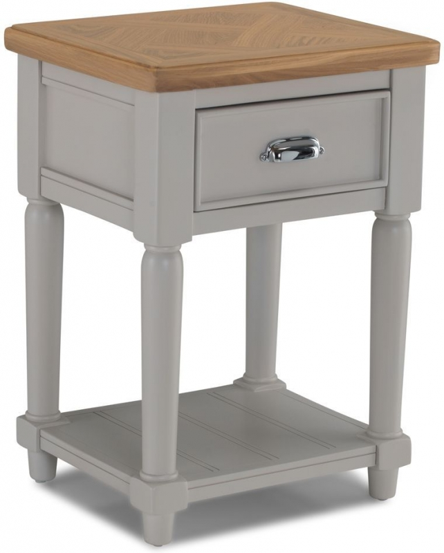 Sorrento Grey Painted Side Table