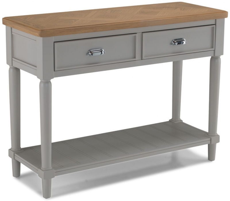 Sorrento Grey Painted Console Table