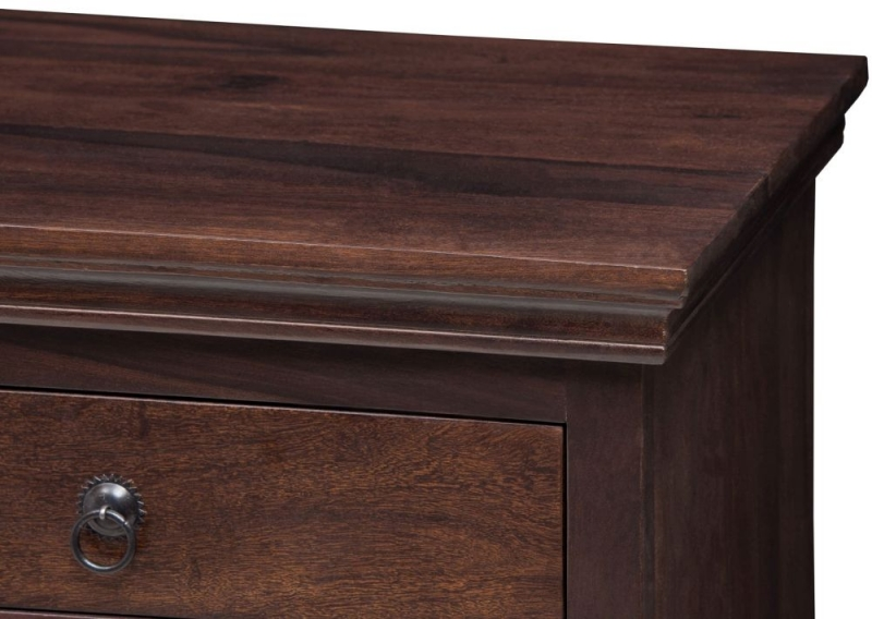 Wood Jali Sheesham Narrow Sideboard
