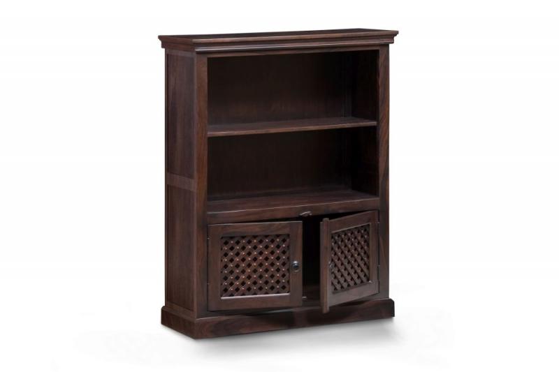 Wood Jali Sheesham Medium Bookcase