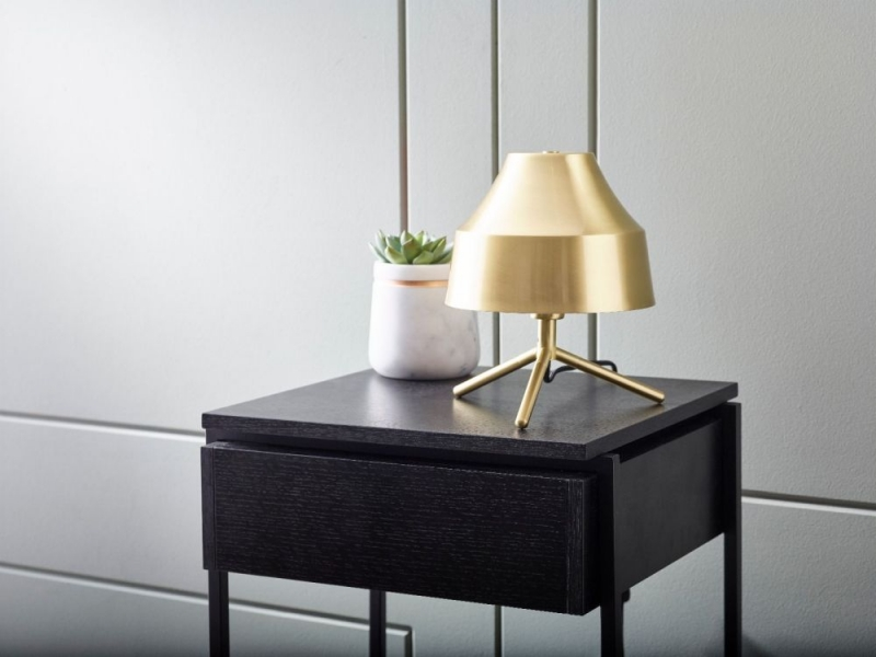 Harwich Brass Polished Table Lamp