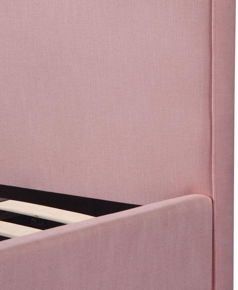 Urban Deco Daisy Powder Pink Fabric 3ft Single Bed