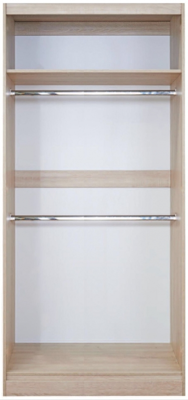 Pembury 2 Door Sliding Wardrobe - White