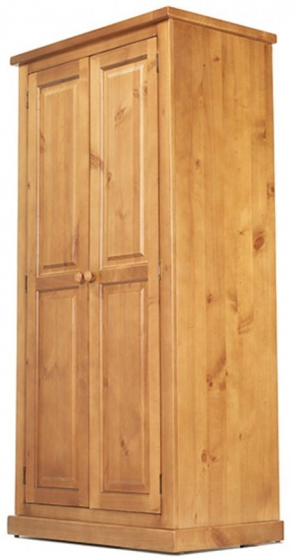 Churchill Pine 2 Door Ladies Wardrobe