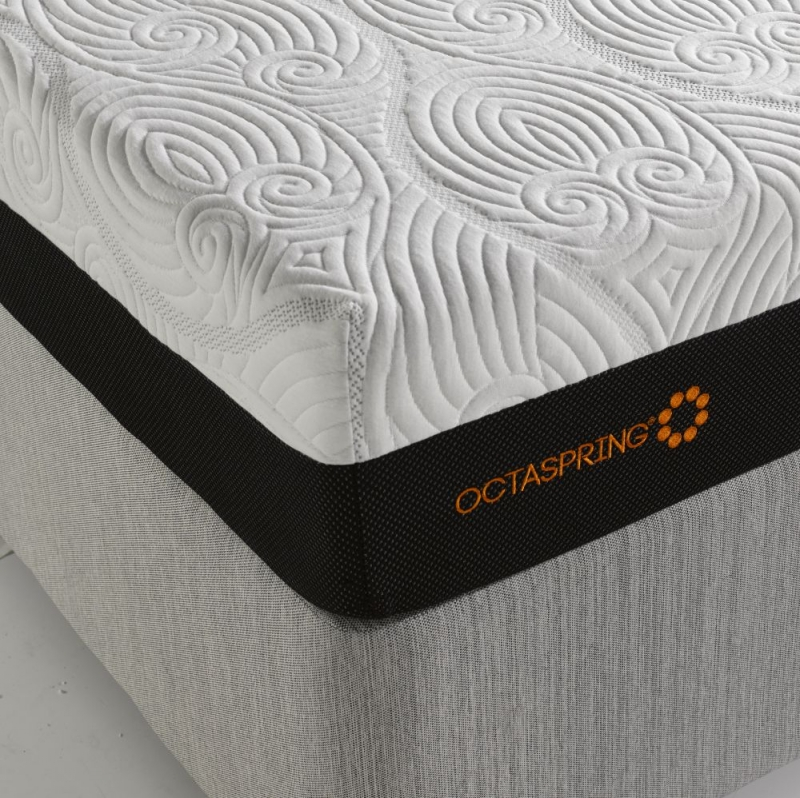 Dormeo Octaspring Venice Fabric Divan Bed with 8000 Mattress