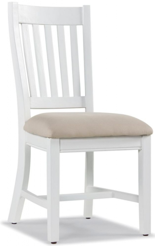 Ashmore Slatted Dining Chair (Pair) - White