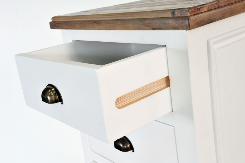 Ashmore 6 Drawer Tall Chest - White