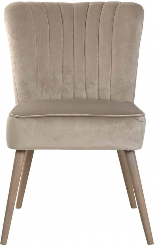 Daley Fabric Dining Chair (Pair)