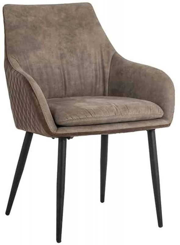 Chrissy Faux Leather Dining Chair (Pair)