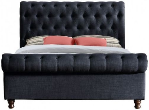 Safina Charcoal Bed