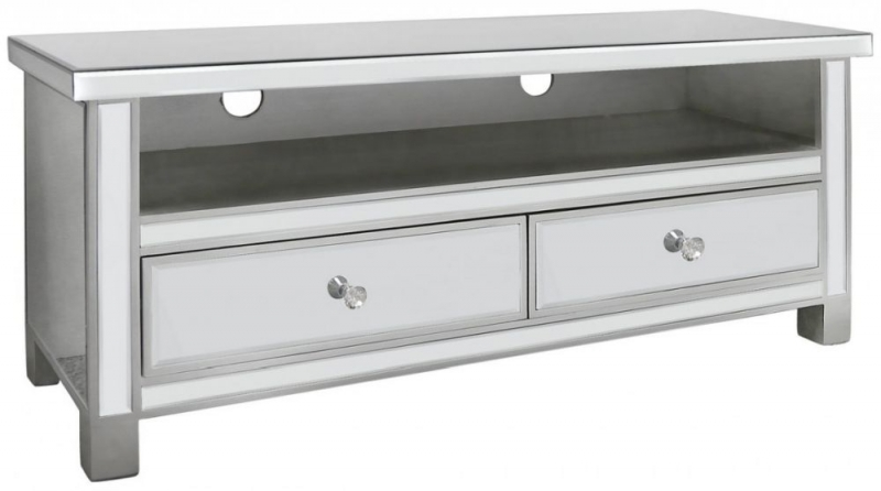 Paolo Entertainment Cabinet - Mirrored