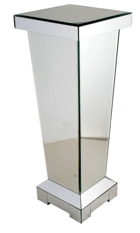 Paolo Large Pedestal - Mirrored