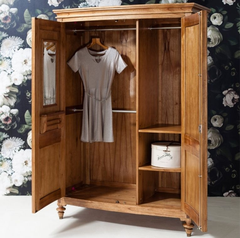 Lifford 2 Door Wardrobe - Walnut