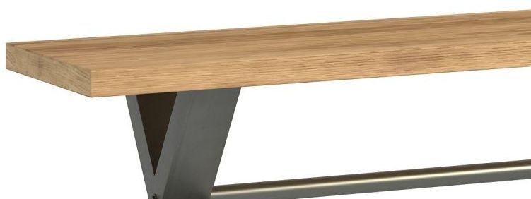 Florien Oak Large Bench