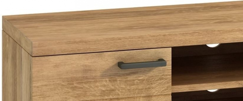 Florien Oak 2 Door TV Unit