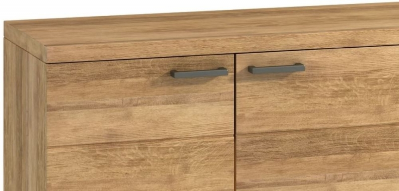 Florien Oak 3 Door Medium Sideboard