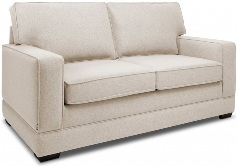 Jay-Be Modern Pocket Sprung 2 Seater Fabric Sofa Bed - Mink