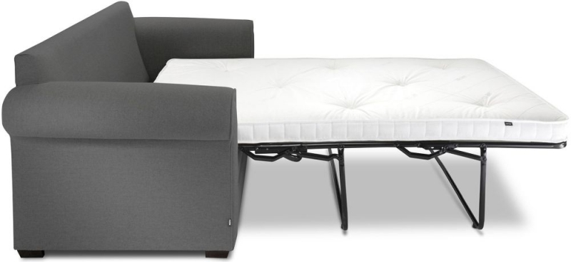 Jay-Be Classic Pocket Sprung 2 Seater Fabric Sofa Bed - Slate