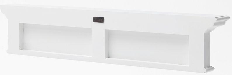 Harrison 6 Hook Coat Rack - White Painted