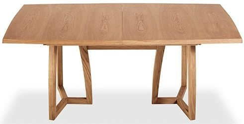 Skovby SM22 Trestle 6 to 10 Seater Oak Veneer Lacquered Extending Dining Table