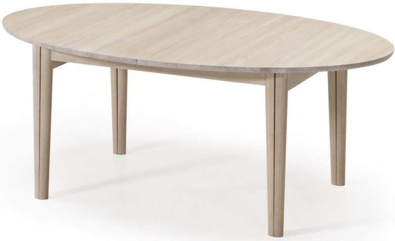 Skovby SM78 Ellipse 6 to 14 Seater Extending Dining Table