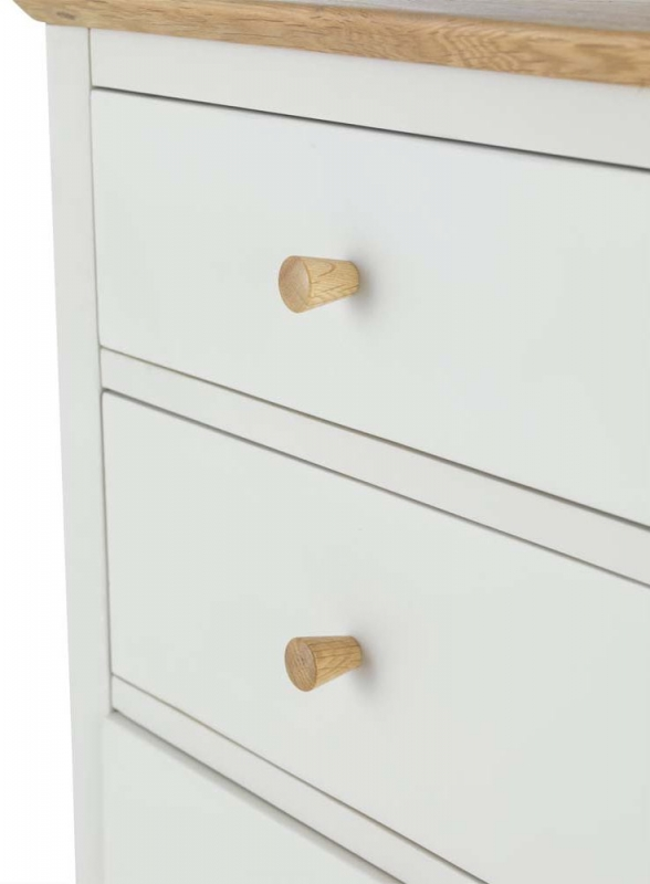 Stanford Grey Painted 3+2 Drawer Chest